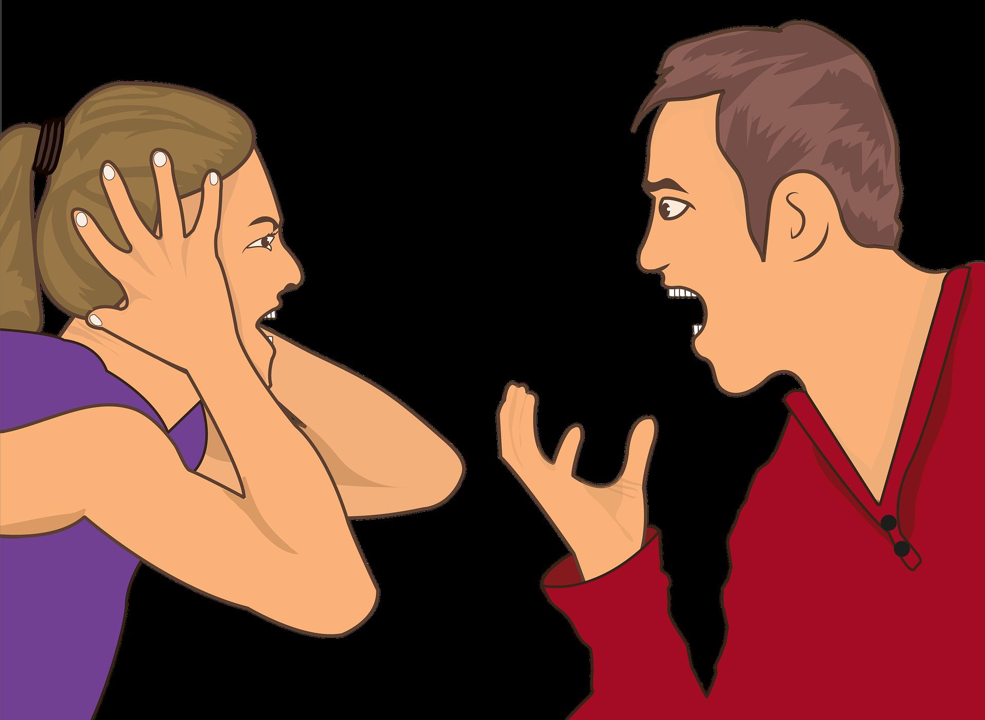 Las 3 discusiones más habituales entre las parejas